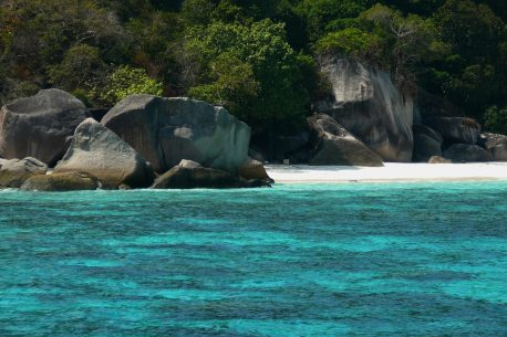 sole Similan in Thailandia